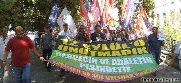 Ankara'da 12 Eylül protestoları