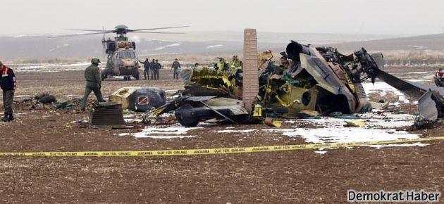 Ankara'da askeri helikopter düştü: 4 ölü