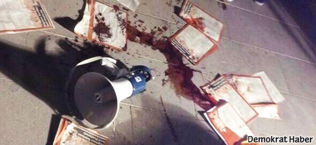 Ankara'da CHP'liler ve sol platform üyelerine saldırı
