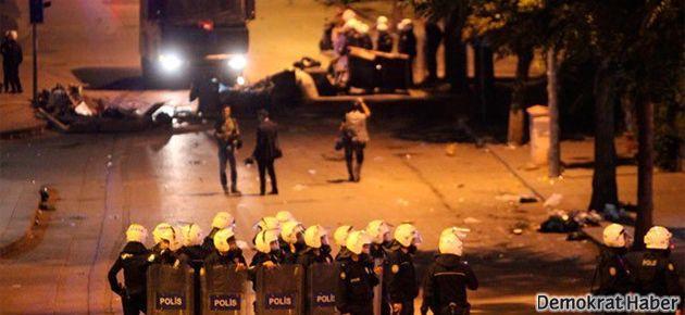 Ankara'da polisten yine sert saldırı vardı