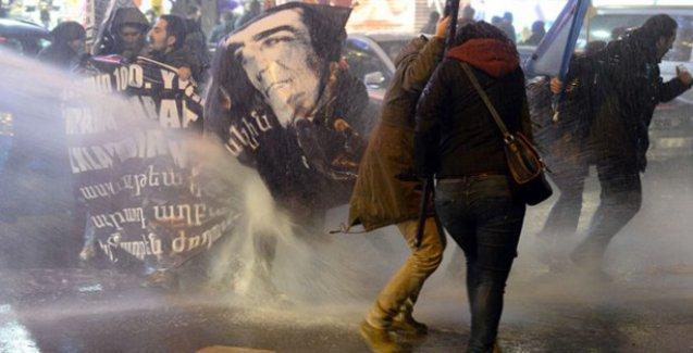 Ankara'da Hrant Dink anmasına polis saldırısı