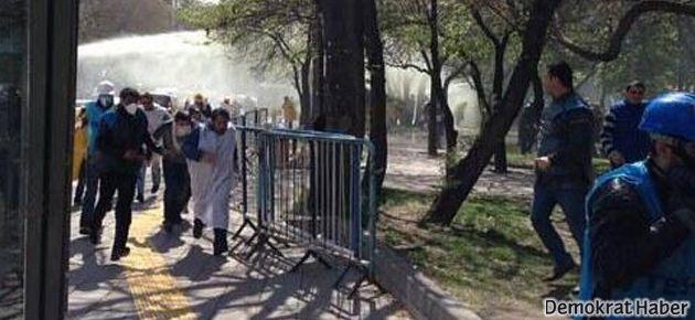Ankara'da işçilere sert müdahale