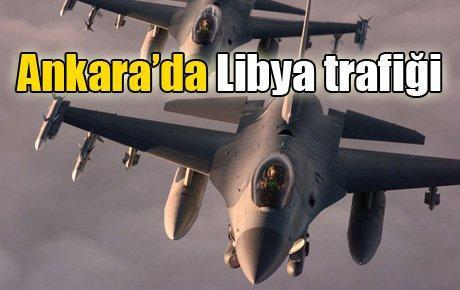 Ankara'da Libya trafiği