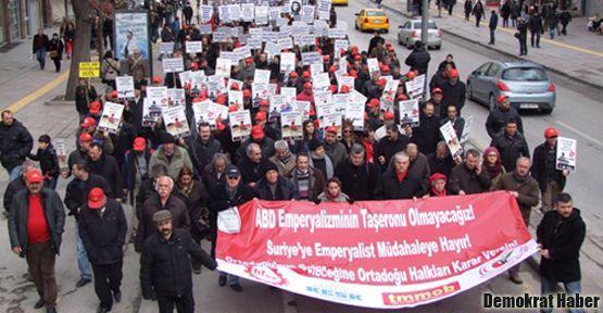 Ankara'da 'Patriotlara hayır!' sesleri yükseldi