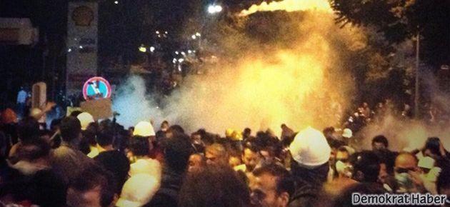 Ankara'da polis gece yine saldırdı