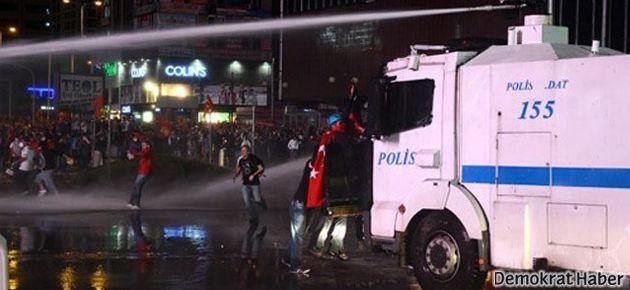 Ankara'da polis yine saldırdı