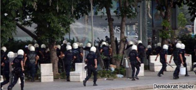 Ankara'da sert polis müdahalesi!