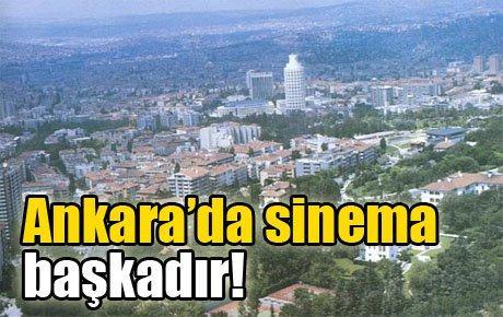 Ankara'da sinema başkadır