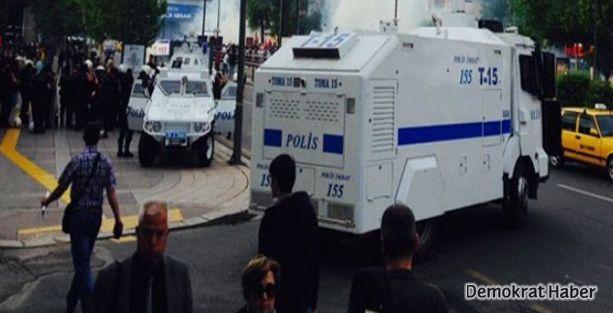 Ankara'da Soma protestosuna polis müdahalesi