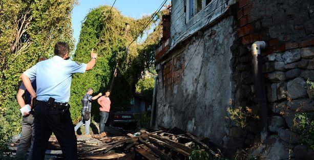 Ankara'da Suriyelilerin kaldığı 3 evde yangın
