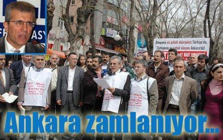Ankara'da zamlar mahkemelik...