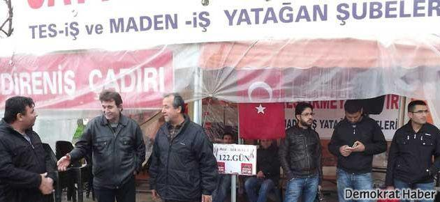 Ankara'ya yürüyorlar