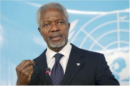Annan: Suriye'de askeri çözüm, durumu daha kötü hale getirir