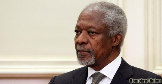 Annan, Suriye'deki son durumu değerlendirdi