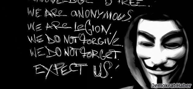 Anonymous Başbakanlık'ın fişini çekti