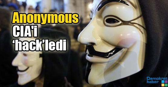 Anonymous CIA'i 'hack'ledi