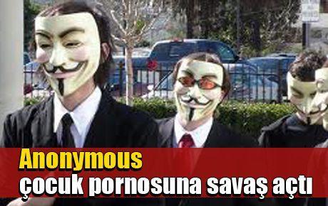 Anonymous çocuk pornosuna savaş açtı
