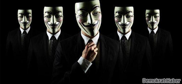 'Anonymous Emniyet'in sitesini hackledi'