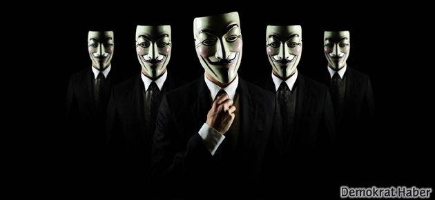 Anonymous operasyona başladı