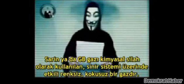 Anonymous'tan çarpıcı Suriye videosu