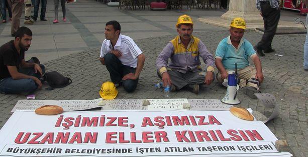 Antalya Büyükşehir Belediyesi'nde işçi kıyımı!