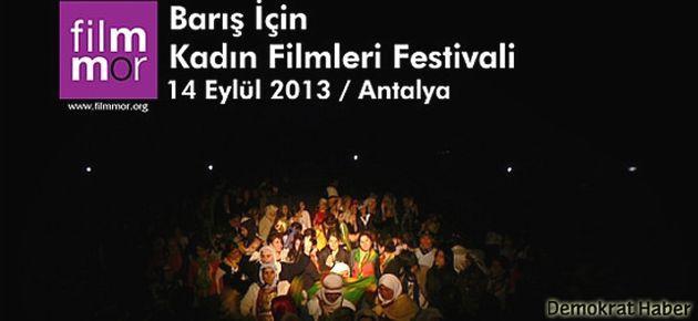 Antalya'da 'Barış İçin Kadın Filmleri Festivali'
