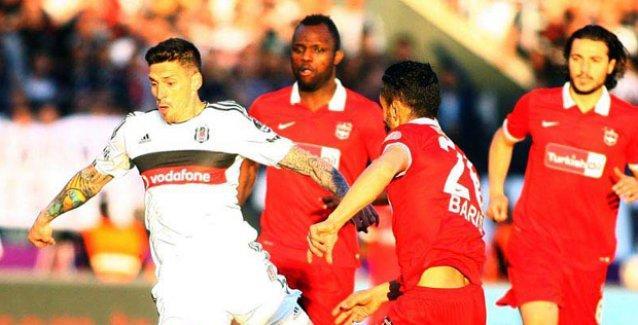 Antep'le berabere kalan Beşiktaş şampiyonluk yarışında büyük yara aldı