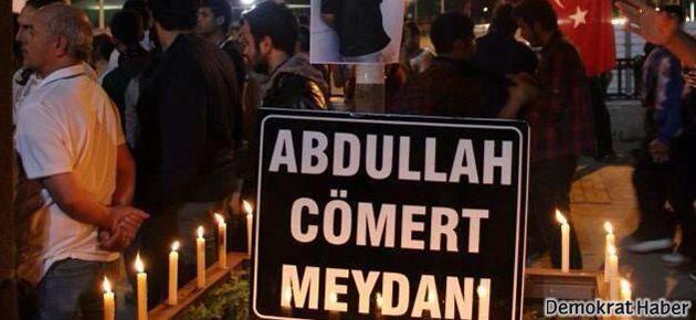 Antep'te Abullah Cömert Meydanı oluşturuldu