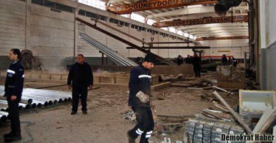 'Antep'teki fabrikada Suriyeli kaçak işçiler vardı'