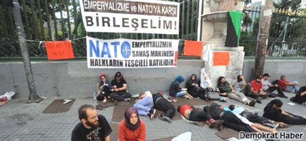 Antikapitalist Müslümanlar'ın Suriye nöbeti