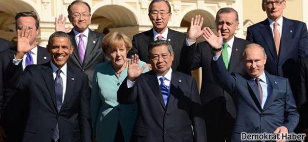 Aralarında Erdoğan'ın da olduğu 25 lideri dinlemişler