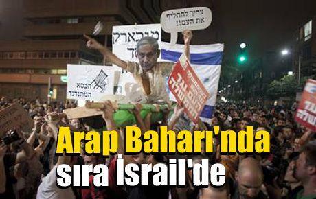Arap Baharı'nda sıra İsrail'de