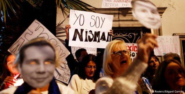 Arjantin'de on binler Nisman için yürüdü