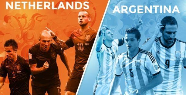 Arjantin finale uzandı!