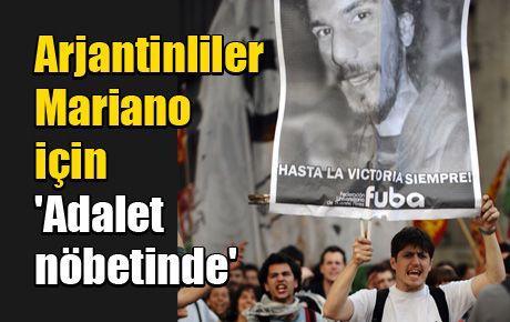 Arjantinliler Mariano için 'Adalet nöbetinde'