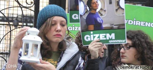 Arkadaşları Gizem Akhan için yürüdü