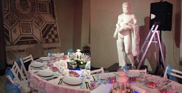 Arkeoloji müzesinde sünnet düğünü!