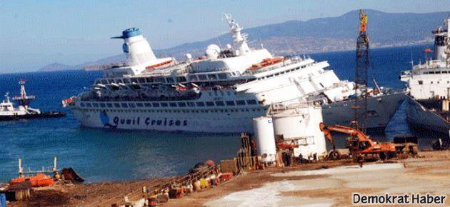 'Aşk Gemisi' iki işçiye mezar oldu