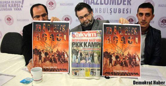 Asparagas 'PKK kampı' haberine ceza!