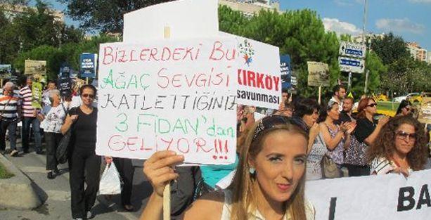 Ataköy Sahil'de inşaatı durdurun!