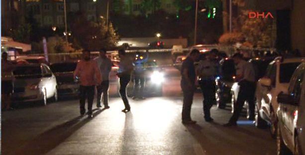 Ataşehir'de kalaşnikofla ateş açıldı: 1 yaralı