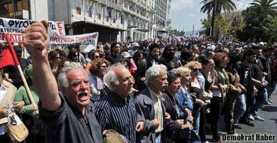 Atina'daki genel grevde bir kişi öldü
