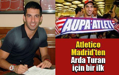Atletico Madrid'ten Arda Turan için bir ilk