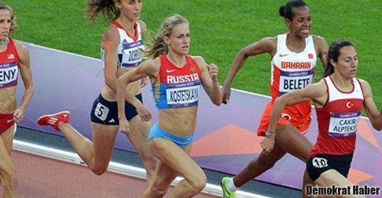 Atletizmde iki madalya birden
