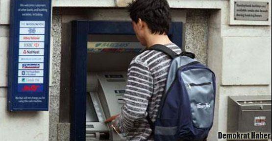 ATM'ye bakma parası!