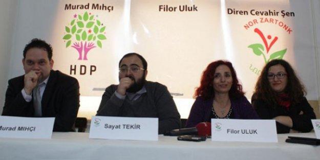 Avrupa Ermeni Federasyonu'ndan Nor Zartonk'un HDP adaylarına destek