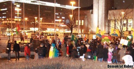 Avrupa'da açlık grevleri için eylemler
