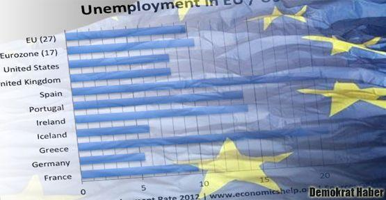 Avrupa'da işsizlik rekoru