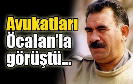 Avukatları Öcalan'la görüştü…