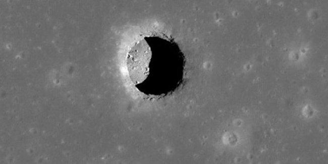 'Ay'da şehirler kurulabilecek büyüklükte mağara ve tüneller var'